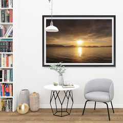 Ezposterprints - Evening Light - 48x32 ambiance display photo sample