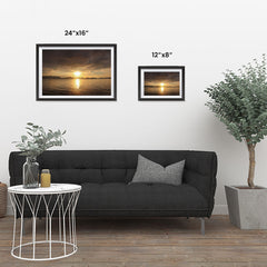Ezposterprints - Evening Light ambiance display photo sample