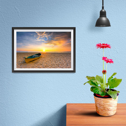 Ezposterprints - Fishing Boat - 12x08 ambiance display photo sample