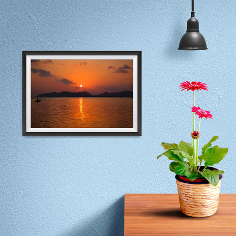 Ezposterprints - Mountain - 12x08 ambiance display photo sample
