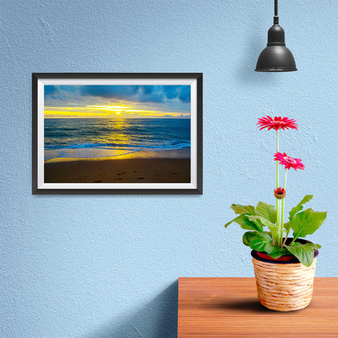 Ezposterprints - Golden - 12x08 ambiance display photo sample
