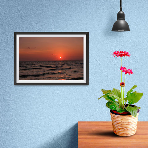 Ezposterprints - Orange - 12x08 ambiance display photo sample