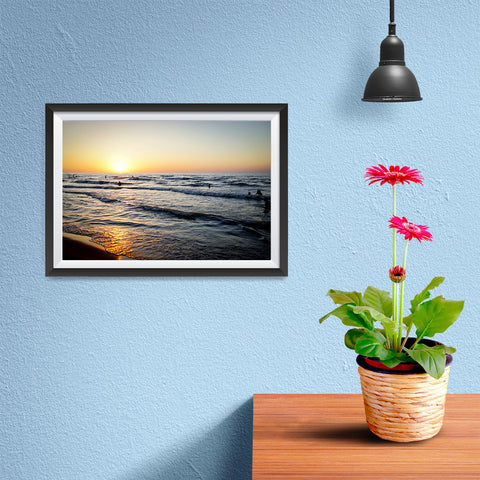 Ezposterprints - Caspian Sea - 12x08 ambiance display photo sample