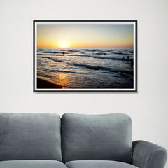 Ezposterprints - Caspian Sea - 24x16 ambiance display photo sample