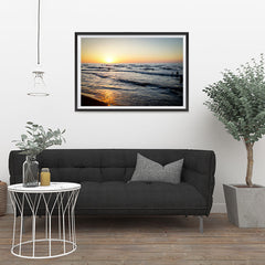 Ezposterprints - Caspian Sea - 36x24 ambiance display photo sample