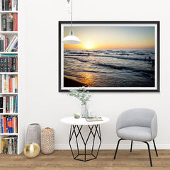 Ezposterprints - Caspian Sea - 48x32 ambiance display photo sample