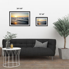 Ezposterprints - Caspian Sea ambiance display photo sample