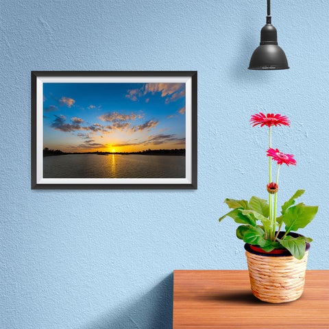 Ezposterprints - Scenery Lake - 12x08 ambiance display photo sample