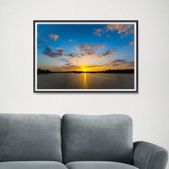 Ezposterprints - Scenery Lake - 24x16 ambiance display photo sample