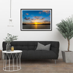 Ezposterprints - Scenery Lake - 36x24 ambiance display photo sample