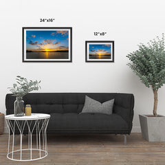Ezposterprints - Scenery Lake ambiance display photo sample