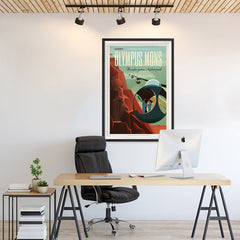 Ezposterprints - Olympus Mons - 24x36 ambiance display photo sample