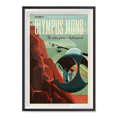 Ezposterprints - Olympus Mons ambiance display photo sample