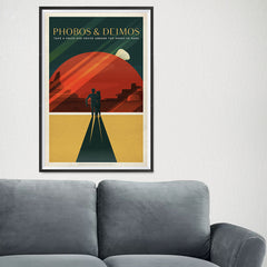 Ezposterprints - Phobos and Deimos - 16x24 ambiance display photo sample
