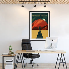 Ezposterprints - Phobos and Deimos - 24x36 ambiance display photo sample