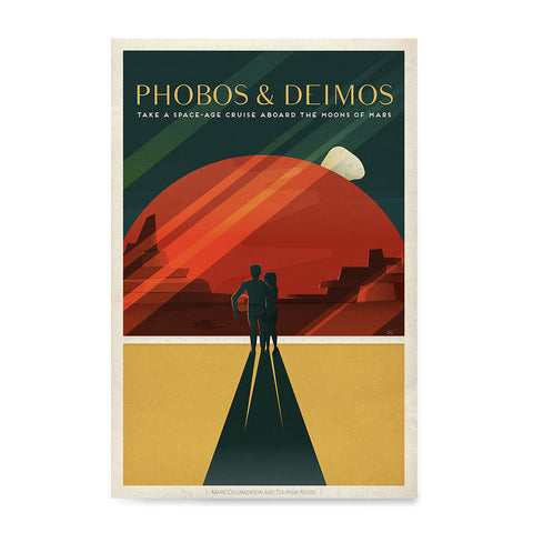 Ezposterprints - Phobos and Deimos