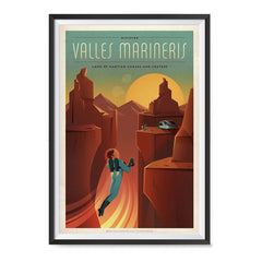 Ezposterprints - Valles Mariners ambiance display photo sample