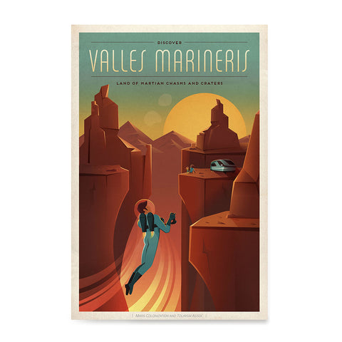 Ezposterprints - Valles Mariners