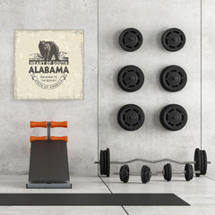 Ezposterprints - Alabama (AL) State Icon - 32x32 ambiance display photo sample