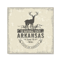 Ezposterprints - Arkansas (AR) State Icon