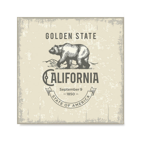 Ezposterprints - California (CA) State Icon