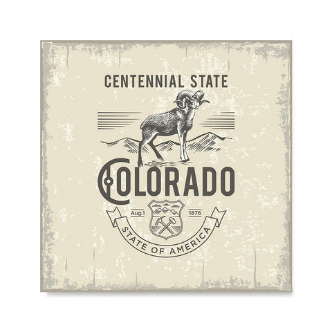 Ezposterprints - Colorado (CO) State Icon