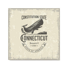 Ezposterprints - Connecticut (CT) State Icon