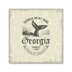 Ezposterprints - Georgia (GA) State Icon