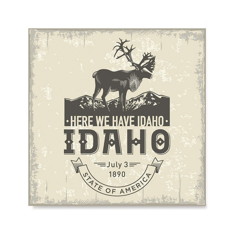 Ezposterprints - Idaho (ID) State Icon