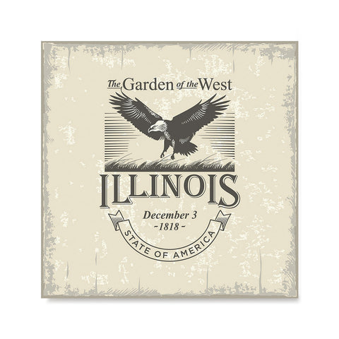 Ezposterprints - Illinois (IL) State Icon