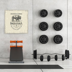 Ezposterprints - Indiana (IN) State Icon - 32x32 ambiance display photo sample
