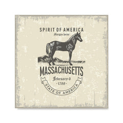 Ezposterprints - Massachusetts (MA) State Icon
