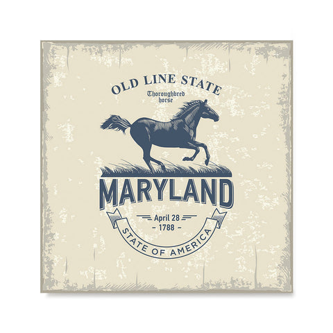 Ezposterprints - Maryland (MD) State Icon