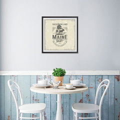 Ezposterprints - Maine (ME) State Icon - 16x16 ambiance display photo sample