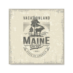 Ezposterprints - Maine (ME) State Icon