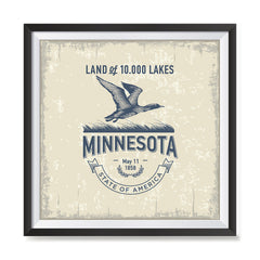 Ezposterprints - Minnesota (MN) State Icon general ambiance photo sample