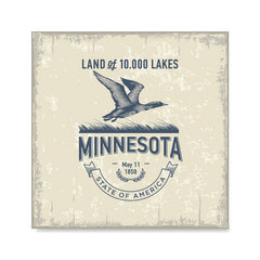 Ezposterprints - Minnesota (MN) State Icon