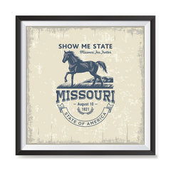 Ezposterprints - Missouri (MO) State Icon general ambiance photo sample