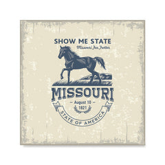 Ezposterprints - Missouri (MO) State Icon