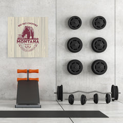 Ezposterprints - Montana (MT) State Icon - 32x32 ambiance display photo sample