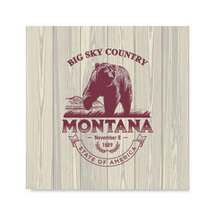 Ezposterprints - Montana (MT) State Icon