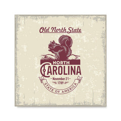 Ezposterprints - North Carolina (NC) State Icon