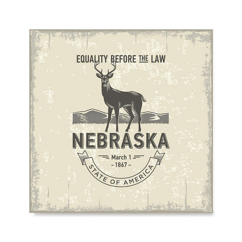 Ezposterprints - Nebraska (NE) State Icon