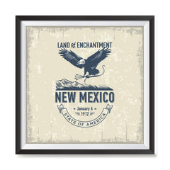 Ezposterprints - New Mexico (NM) State Icon general ambiance photo sample