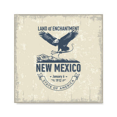 Ezposterprints - New Mexico (NM) State Icon