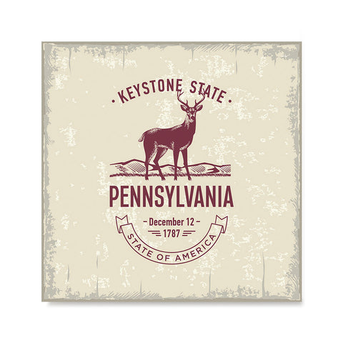 Ezposterprints - Pennsylvania (PA) State Icon