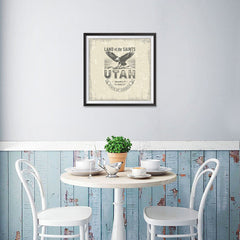 Ezposterprints - Utah (UT) State Icon - 16x16 ambiance display photo sample