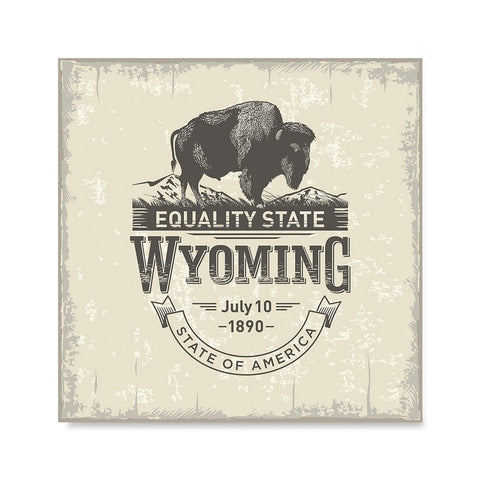 Ezposterprints - Wyoming (WY) State Icon