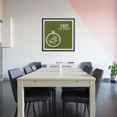 Ezposterprints - Use Green Energy - 32x32 ambiance display photo sample