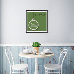 Ezposterprints - Green Home - 16x16 ambiance display photo sample